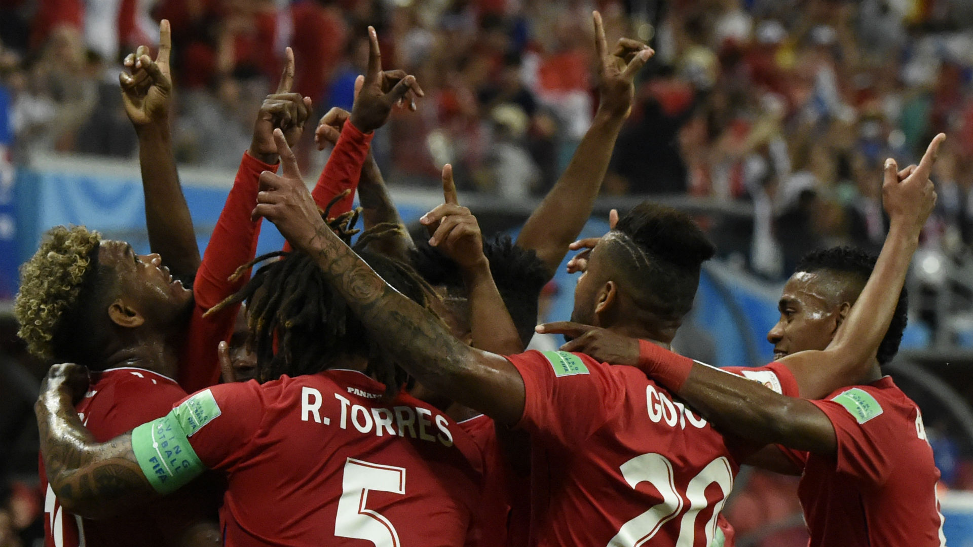 Panama celebrates World Cup