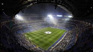 Santiago Bernabeu Real Madrid PSG Champions League 14022018