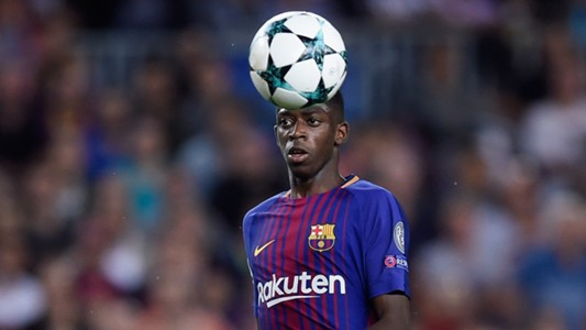 Ousmane Dembele Barcelona Juventus Champions League 12092017