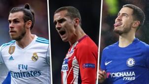 Gareth Bale Antoine Griezmann