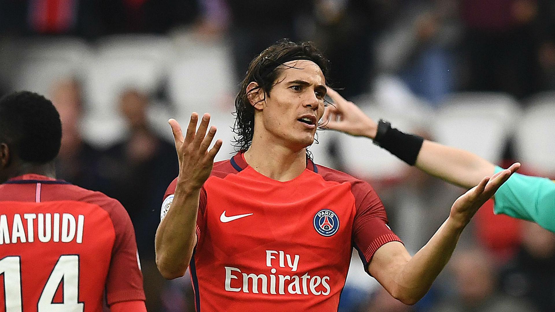 Edinson Cavani PSG Ligue1 050617