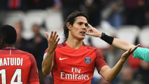 Edinson Cavani PSG Ligue1 050617