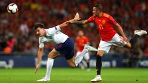Harry Maguire Iago Aspas Inglaterra España England Spain Nations League 08092018
