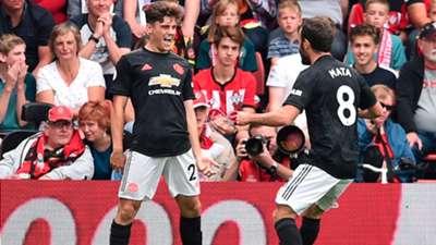 James Juan Mata Southampton Manchester United Premier League