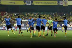 Kerala Blasters training
