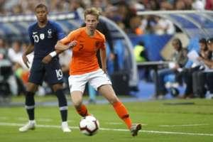 Frenkie de Jong / Kylian Mbappé -- France vs Netherlands