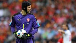 Petr Cech Spain Czech Republic Euro 2016