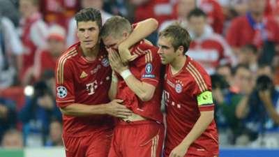 Lahm Gomez Schweinsteiger Chelsea Bayern Munich Champions league 05192012