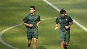 Cristiano Ronaldo & Luis Figo