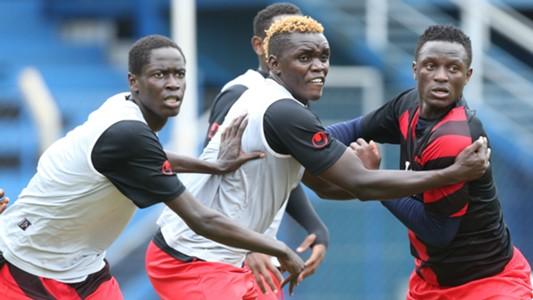 Victor Wanyama and David Ochieng.j