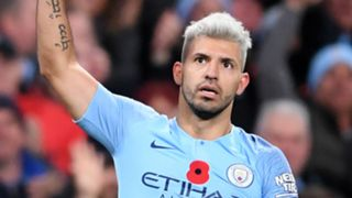 Sergio Aguero Manchester City Man United