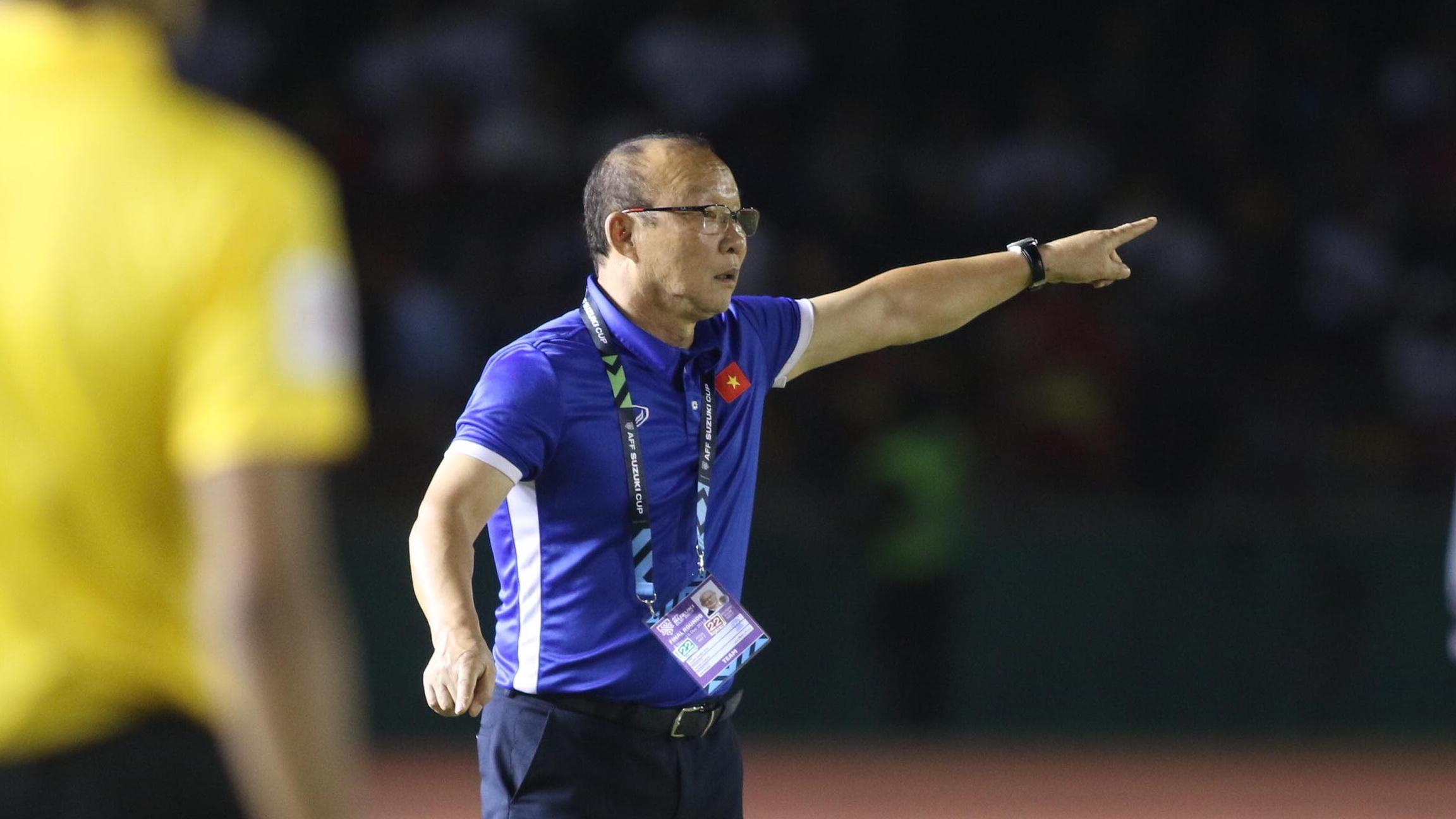 Kết quả hình ảnh cho philippines - việt nam aff cup 2018 - hlv park hang seo