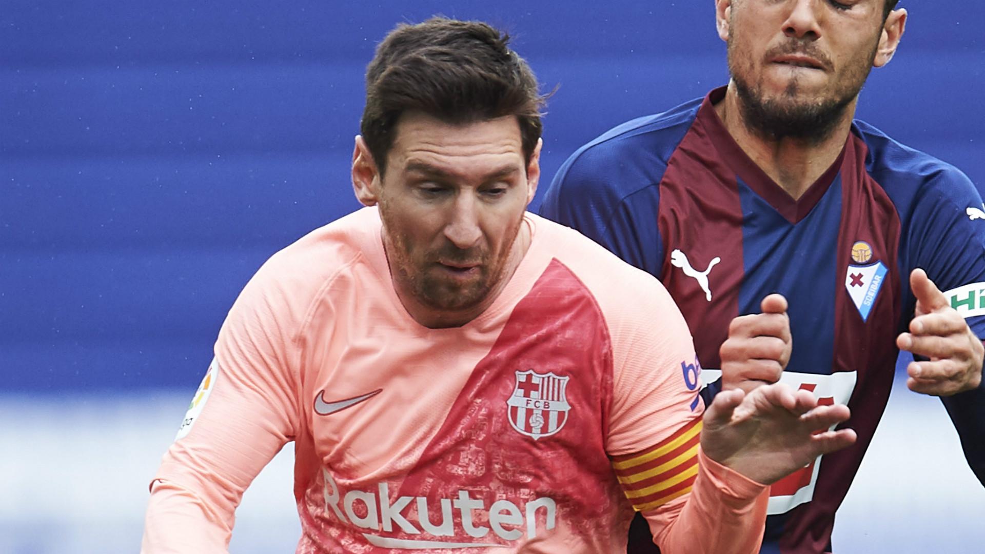 Video: Messi is more worried about team despite goal-scoring titles - Valverde