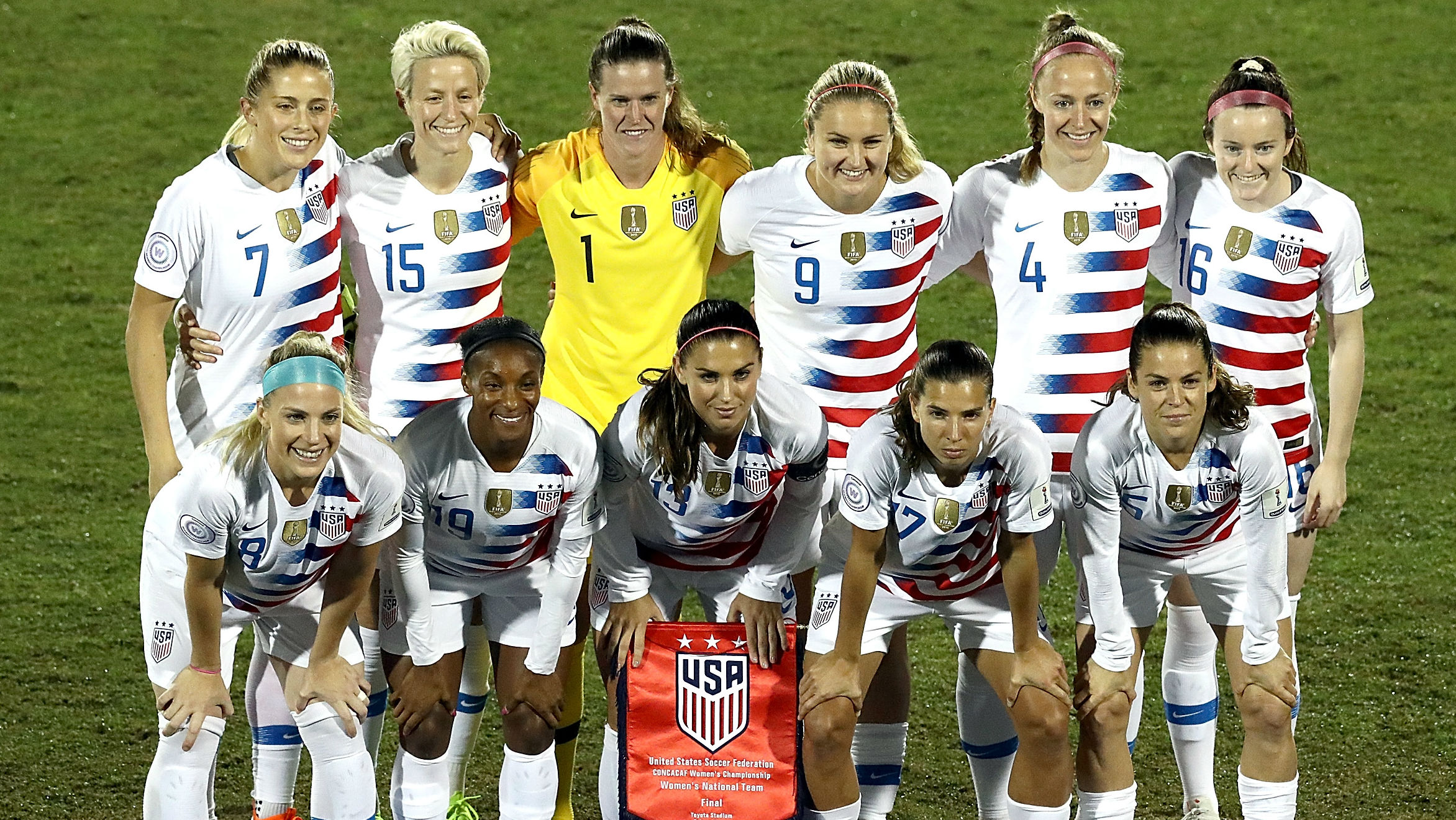 uswnt news: u.s. soccer announces 10 games in 2019 leading up to