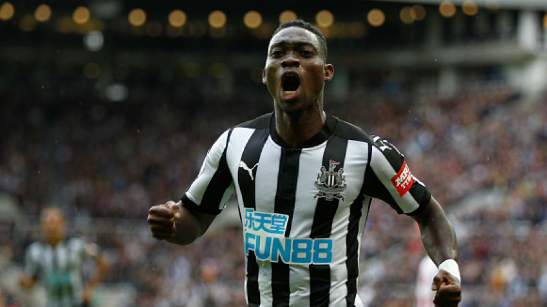 Newcastle moves into top 5 with 3rd straight EPL win