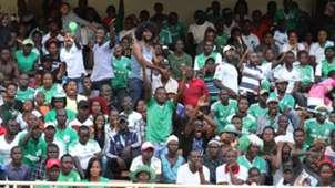 Gor Mahia FC fans v RS Berkane.