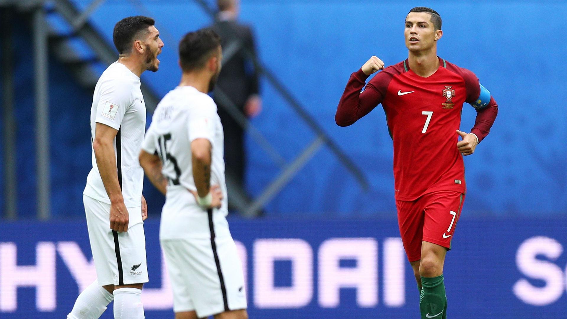 Cristiano Ronaldo Portugal New Zealand Confederations Cup
