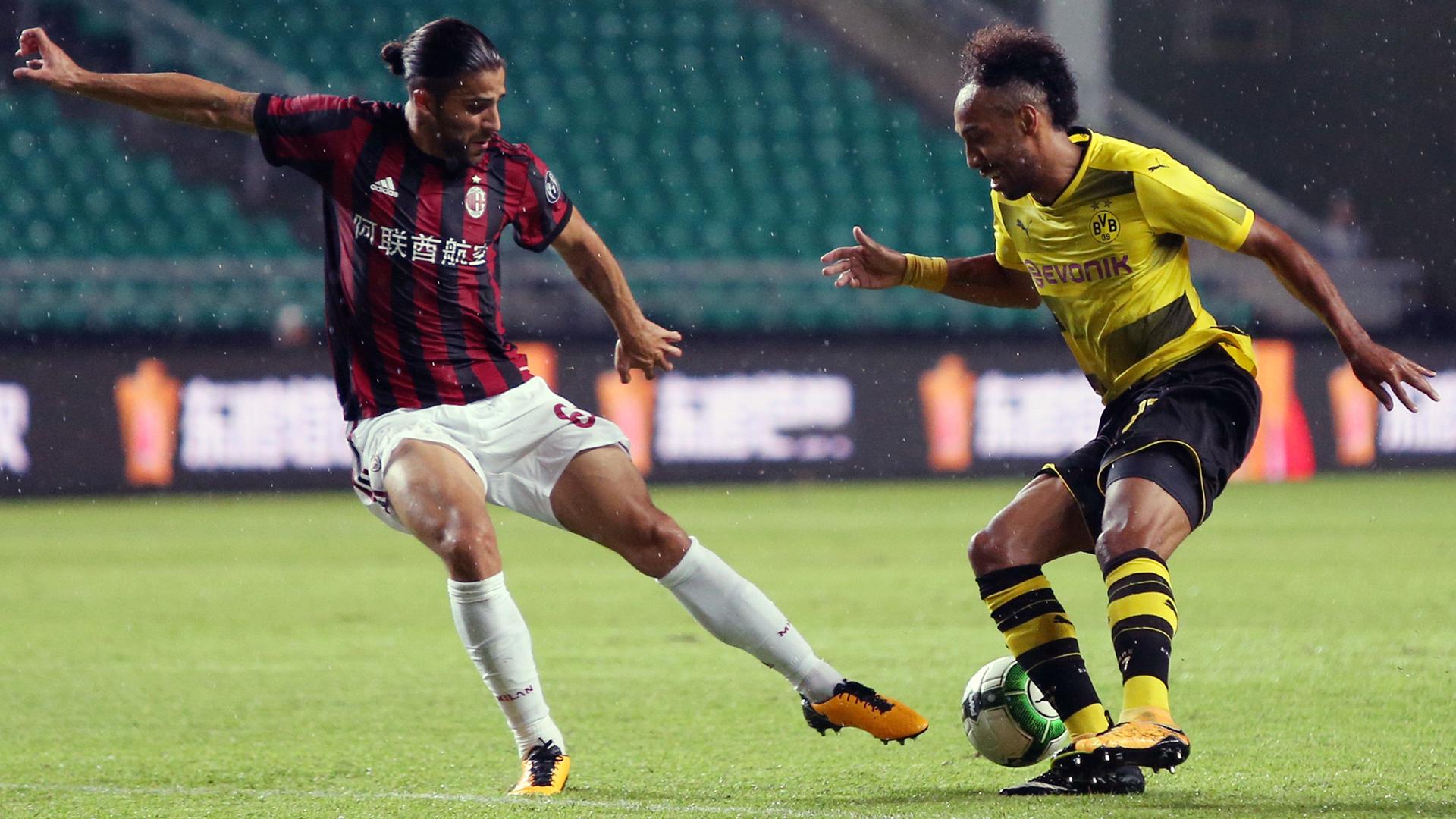 Ricardo Rodriguez Aubameyang Milan