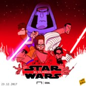 CARTOON El Clasico Star Wars