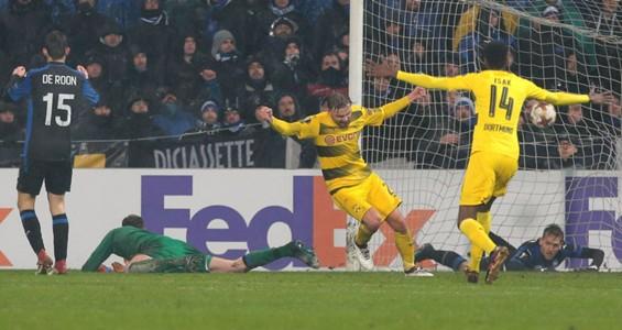 Marcel Schmelzer Atalanta Borussia Dortmund Europa League