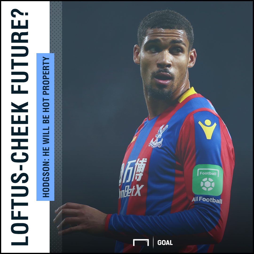 Ruben Loftus-Cheek hot property Roy Hodgson