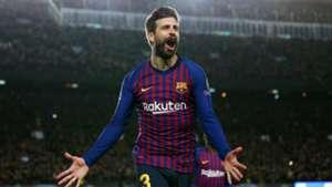 Gerard Pique FC Barcelona Lyon 13032019