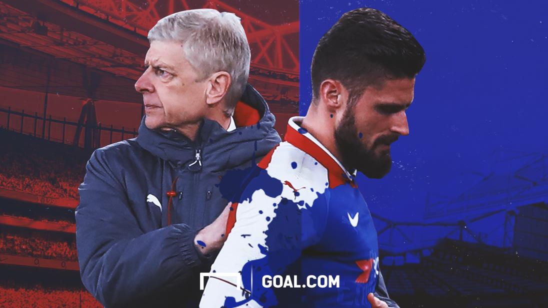 Olivier Giroud Chelsea Arsene Wenger Arsenal HD