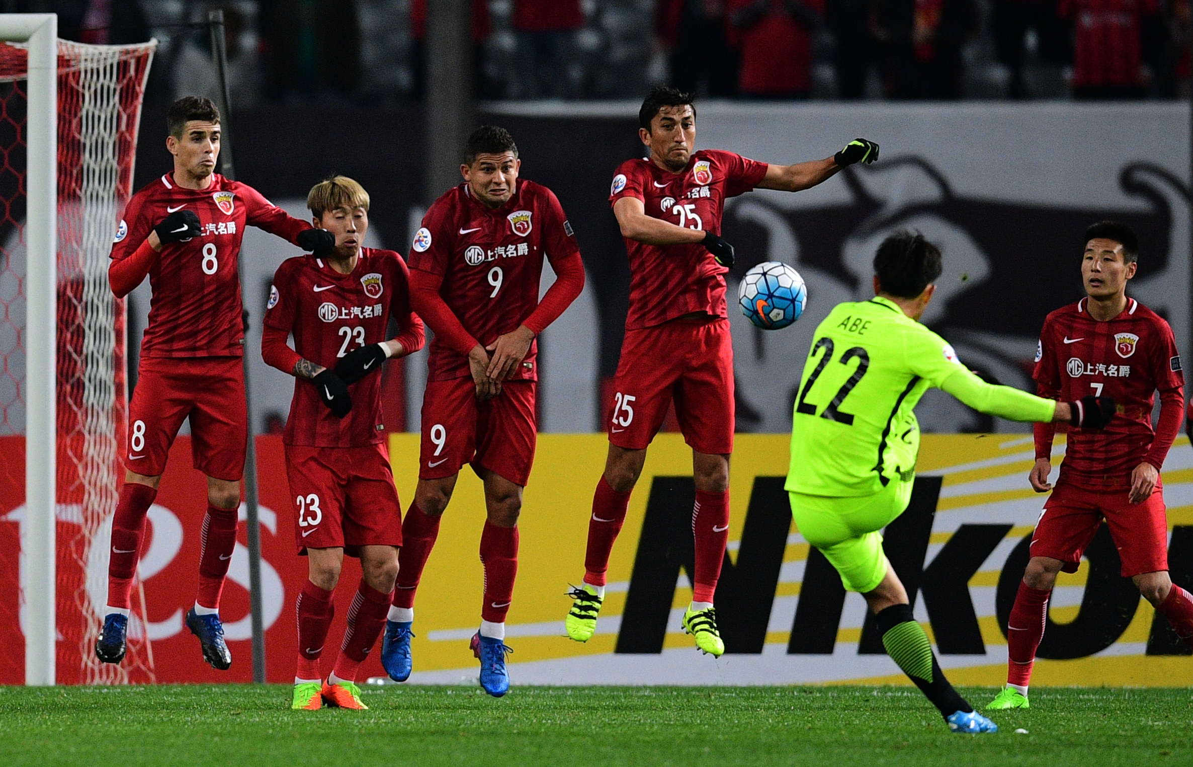 Shanghai SIPG vs Urawa Red Diamonds
