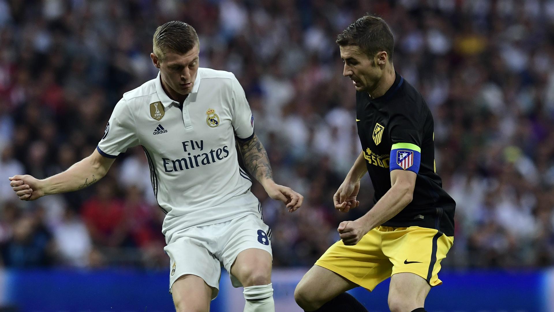 Toni Kroos Gabi Real Madrid Atletico Madrid Champions League