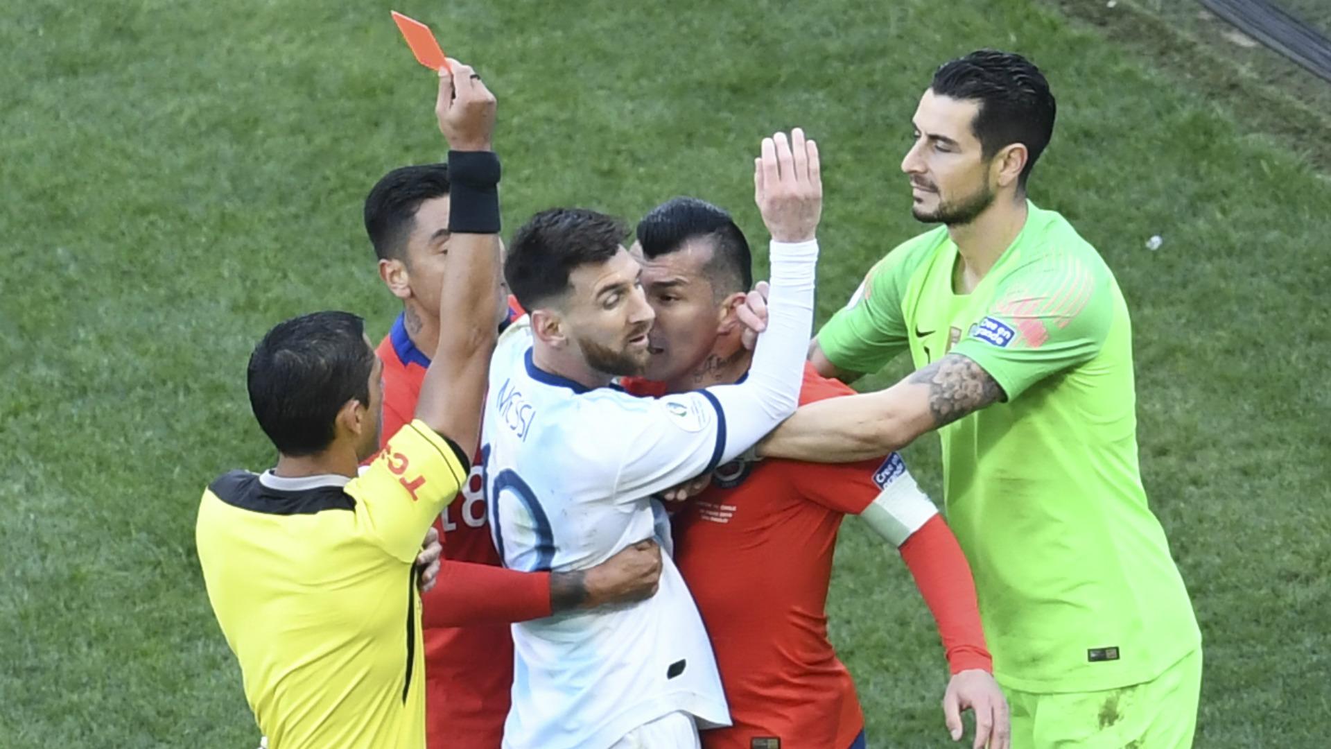 Copa America : carton rouge pour Messi, l'Argentine termine 3ème