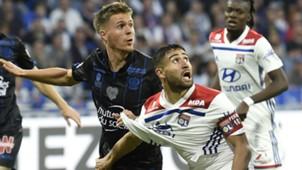 Nabil Fekir Arnaud Souquet Lyon Nice Ligue 1 19052018