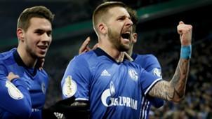 Guido Burgstaller FC Schalke 04 VfL Wolfsburg DFB Pokal 07022018