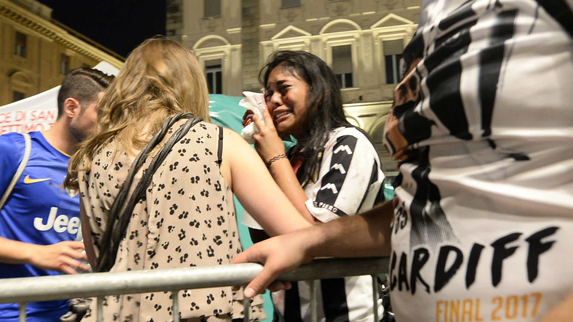 Juventus fans Turin Champions League final