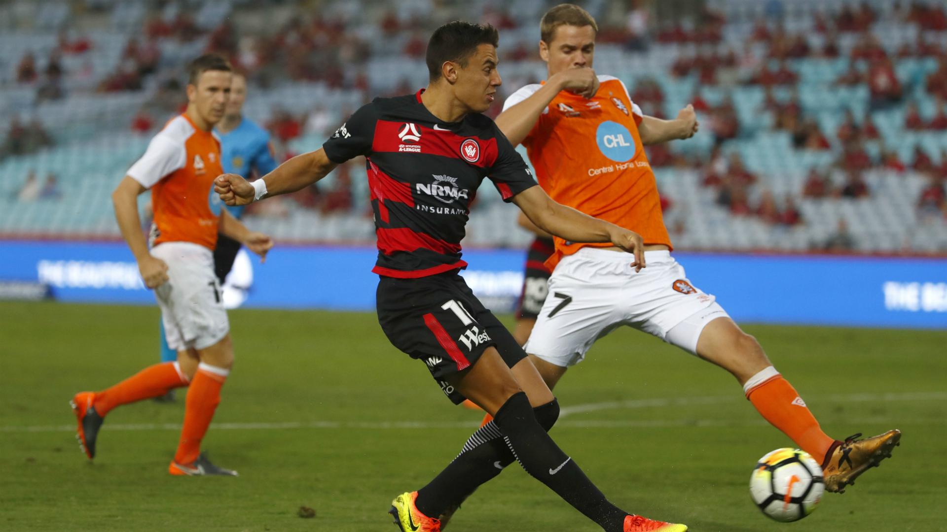 Chris Ikonomidis- Western Sydney Wanderers/ Brisbane Roar