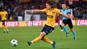 Filipe Luis Roma Atletico de Madrid Champions League 12092017
