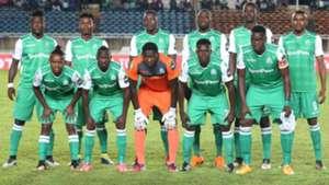 Gor Mahia squad v USM Alger