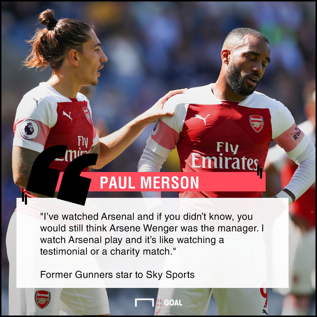 Arsenal testimonial football Paul Merson