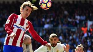 Antoine Griezmann Karim Benzema Real Madrid Atletico LaLiga 08042017