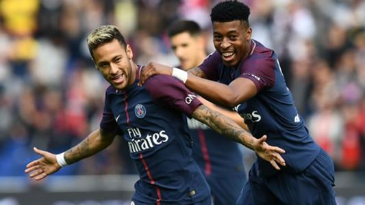 Neymar Presnel Kimpembe PSG Bordeaux Ligue 1 30092017