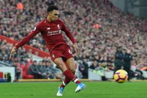 Trent Alexander Arnold Liverpool vs Newcastle Premier League 261218