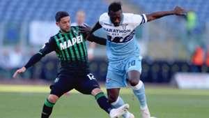 Felipe Caicedo Stefano Sensi Lazio Sassuolo Serie A