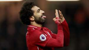 Mohamed Salah FC Liverpool celebration