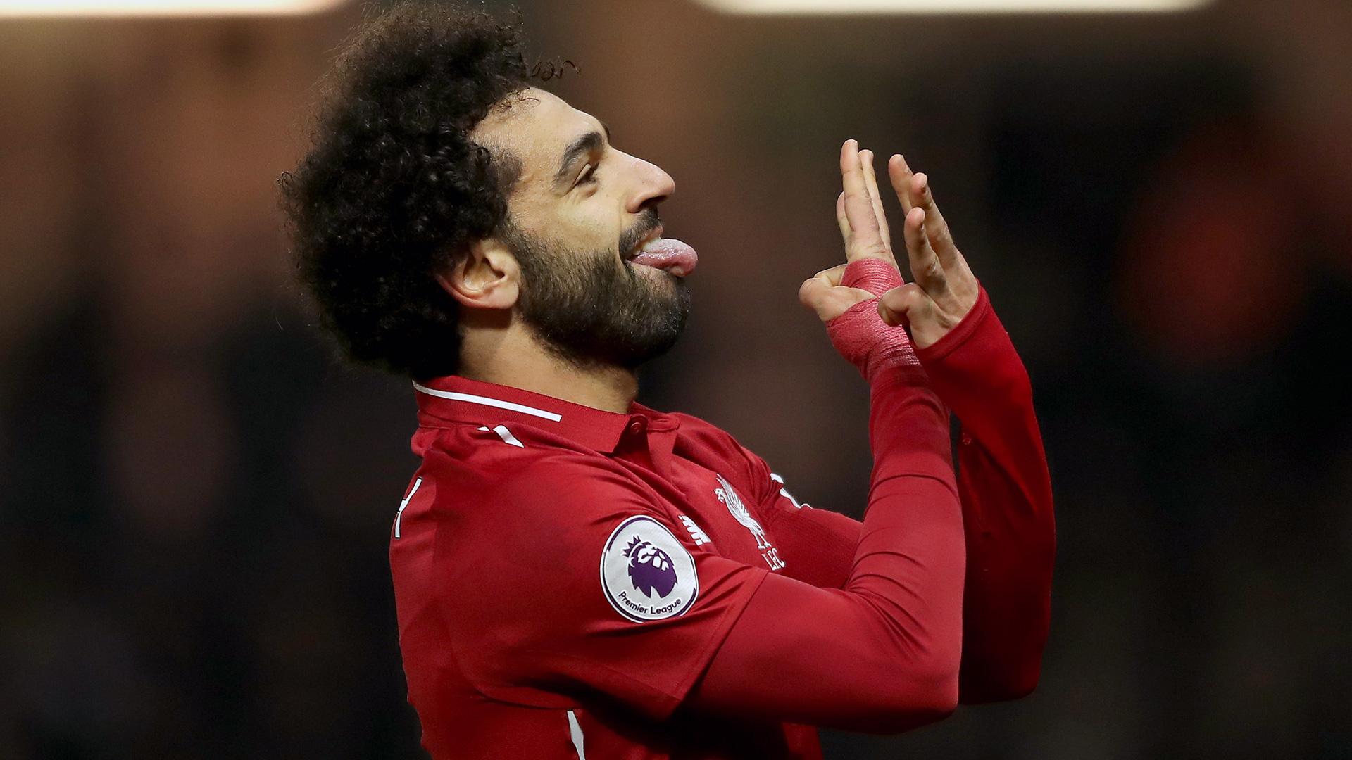 Mohamed Salah FC Liverpool celebration