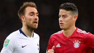 Christian Eriksen James Rodriguez