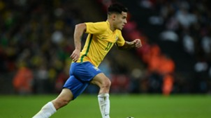 Philippe Coutinho England Brazil Friendly 14112017
