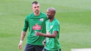Bafana Bafana, Wayne Sandilands & Tebogo Langerman