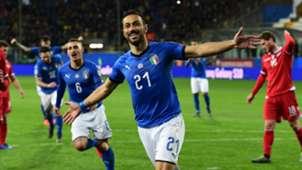 Fabio Quagliarella Italia Liechtenstein