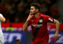 Lucas Alario Bayer Leverkusen 13122017