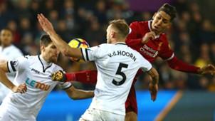 Roberto Firmino Liverpool Swansea Premier League