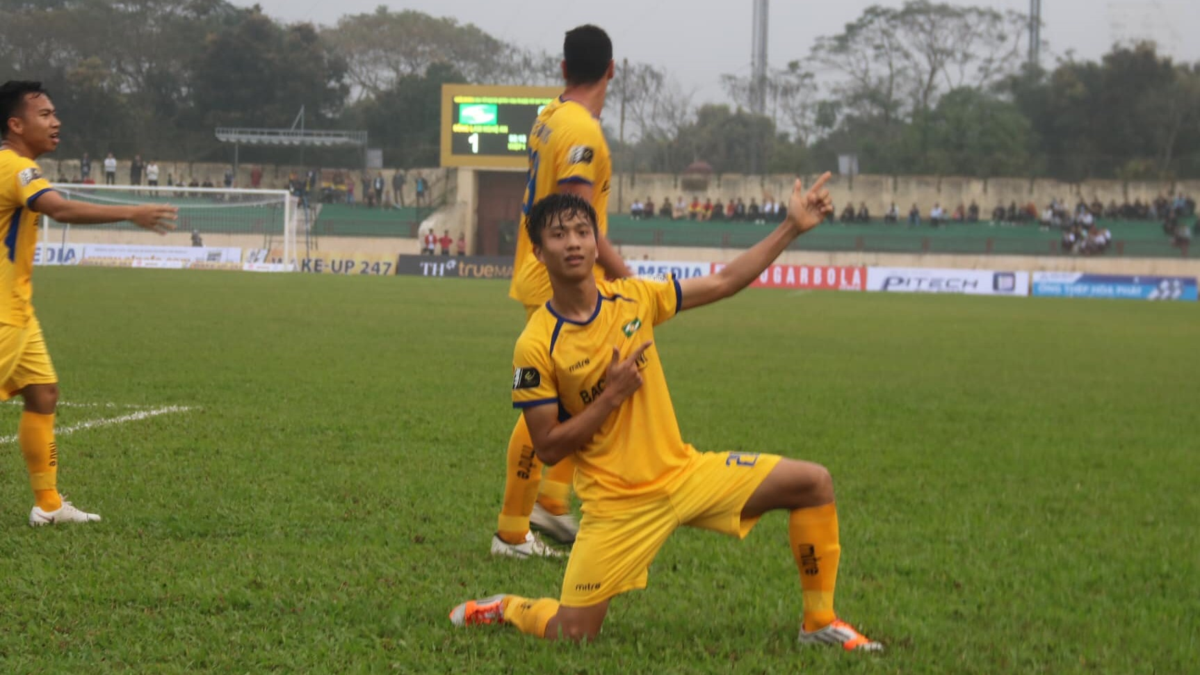 Phan Van Duc SLNA vs Quang Nam V.League 2019
